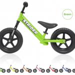 梨花ちゃんの息子くんのストライダーはグリーン>>【ストライダー正規品 STRIDER:グリーン】はコチラ>>ペダルなしで自転車練習がスムーズに♬