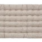 梨花ちゃん♬ 息子くんのお昼寝マットはコチラ>>【無印良品/麻綿キルティングごろ寝マット/ベージュストライプ 60×120cm】