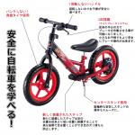 海老蔵さんちの玩具シリーズ>>ペダルなし自転車【D-Bike】