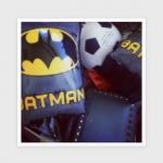 梨花ちゃんちの息子君『バットマン』の浮き輪は日本でも買えるよ〜。【アームリング/うきわ】