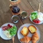 優木まおみサンちのオシャレ朝食!珈琲の木製サーバーはコチラ>>
