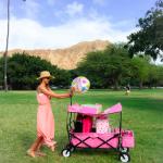 吉川ひなのチャン愛用ピンクのカートを探せ!ピンク色のキャンピング&ピクニック用品>>