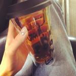 田丸麻紀>>愛用タンブラーはコチラ>>ほうじ茶をお気に入りタンブラーで!