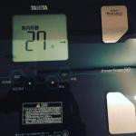 滝沢眞規子さん愛用>>体内年齢は27歳!タニタの体重計