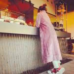 紗栄子さん愛用ピンクのコートは>>44%オフ!お値段ビックリっ